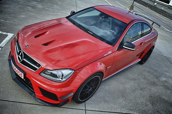 Mercedes-Benz C63 AMG Black Series от GAD-Motors