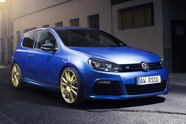 Volkswagen Golf R в тюнинге Alpha-N Performance