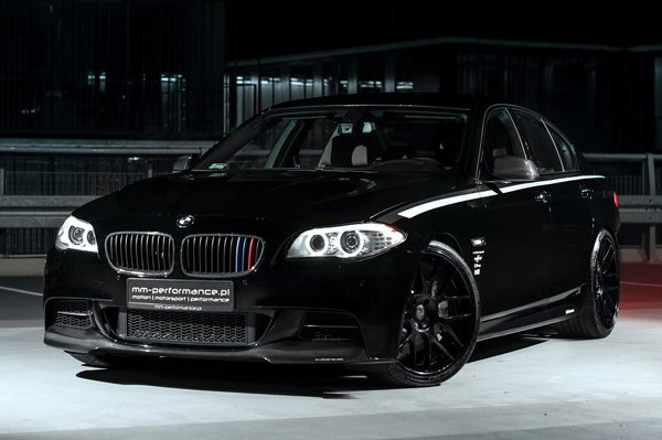 MM-Performance доработал BMW M550d xDrive